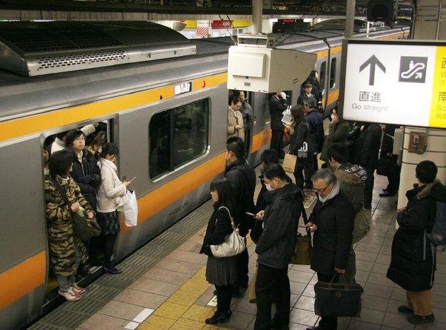 東京の通勤電車(イメージ写真)
