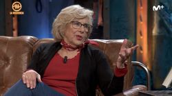 Manuela Carmena responde a la pregunta del sexo de Broncano en 'La Resistencia' para lanzar una