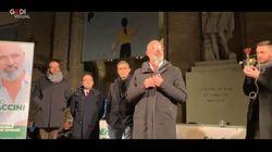 Parma, Bonaccini in piazza con Pizzarotti: