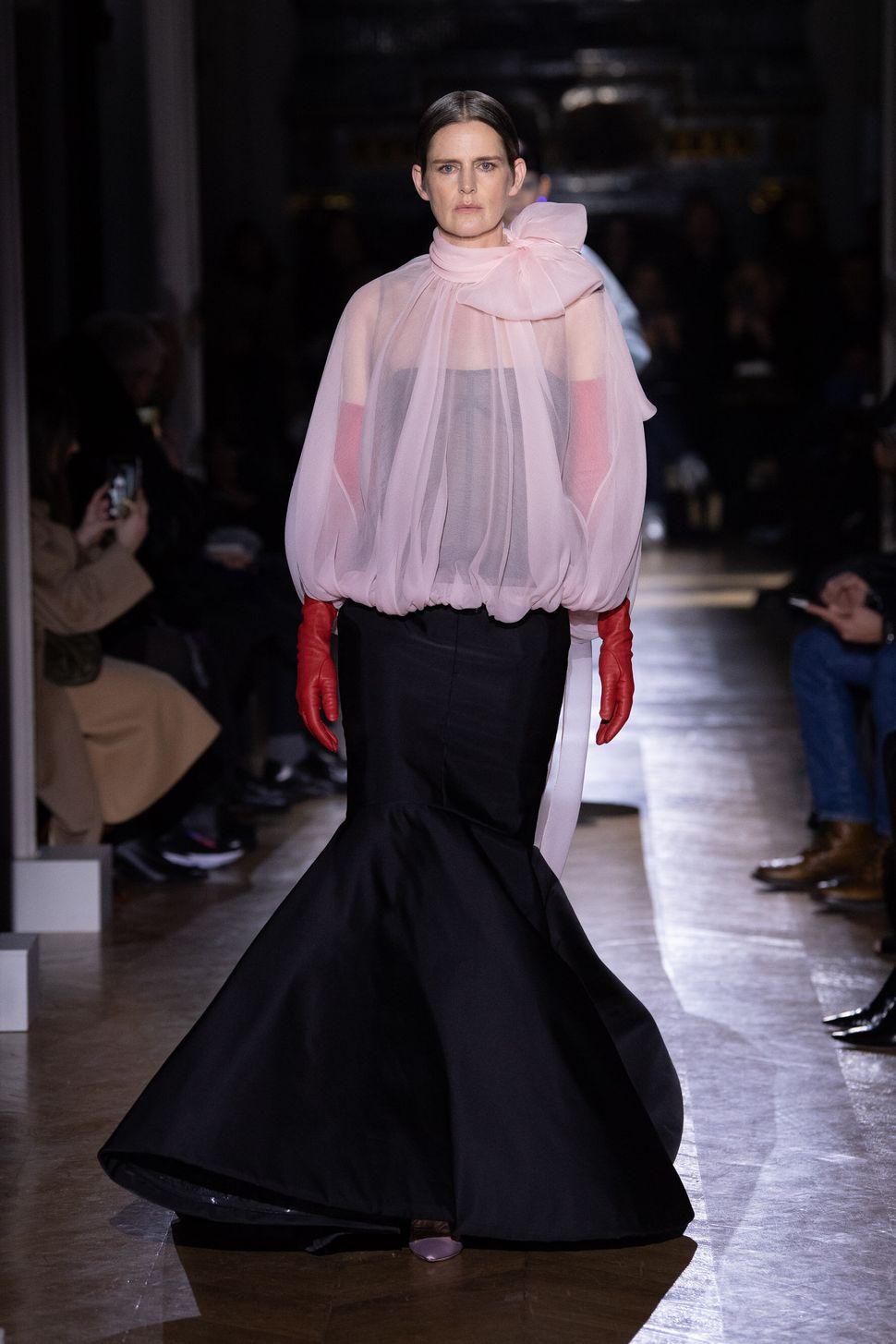 Collezione Haute Couture SS20 e finale di sfilata di Valentino