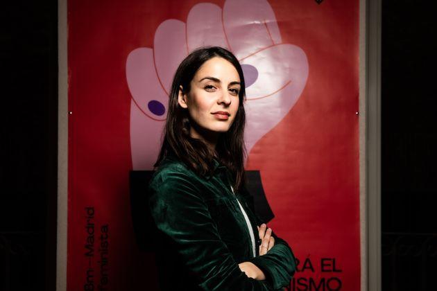 Rita Maestre, en las dependencias municipales de Más
