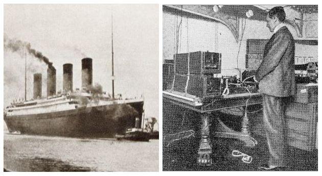 Titanic, Telegrafo