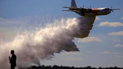 Mueren tres bomberos de EEUU en un accidente de avión mientras trataban de combatir los incendios en