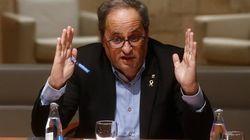 Torra exige a Sánchez que resuelva los déficits estructurales de Cataluña agravados por
