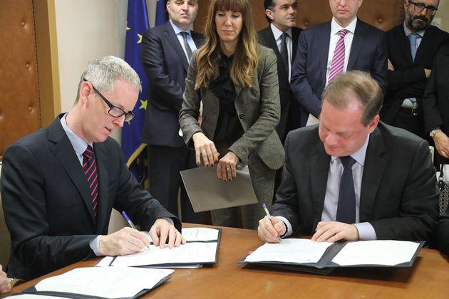 Υπογράφηκε η χρηματοδότηση της ΕΤΕπ για το νέο αεροδρόμιο της