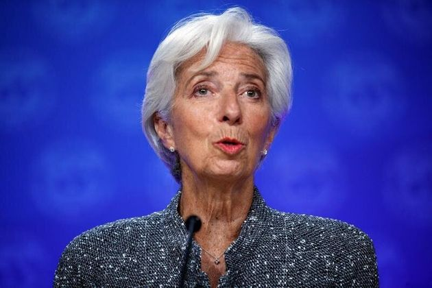 La presidenta del Banco Central Europeo, Christine