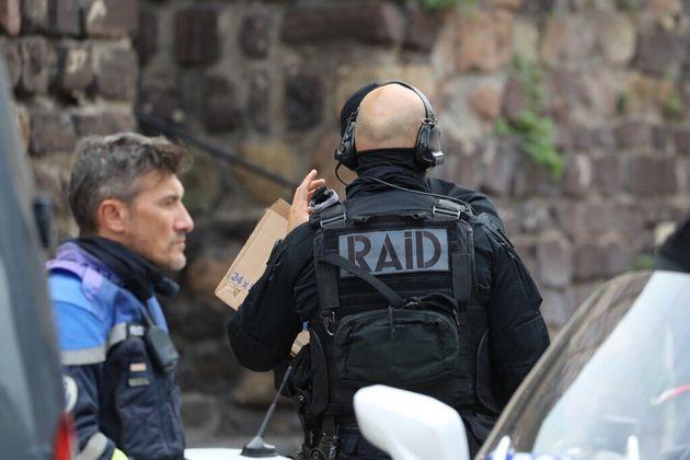 Des policiers du RAID, l'unité d'élite et d'intervention de la police nationale (photo