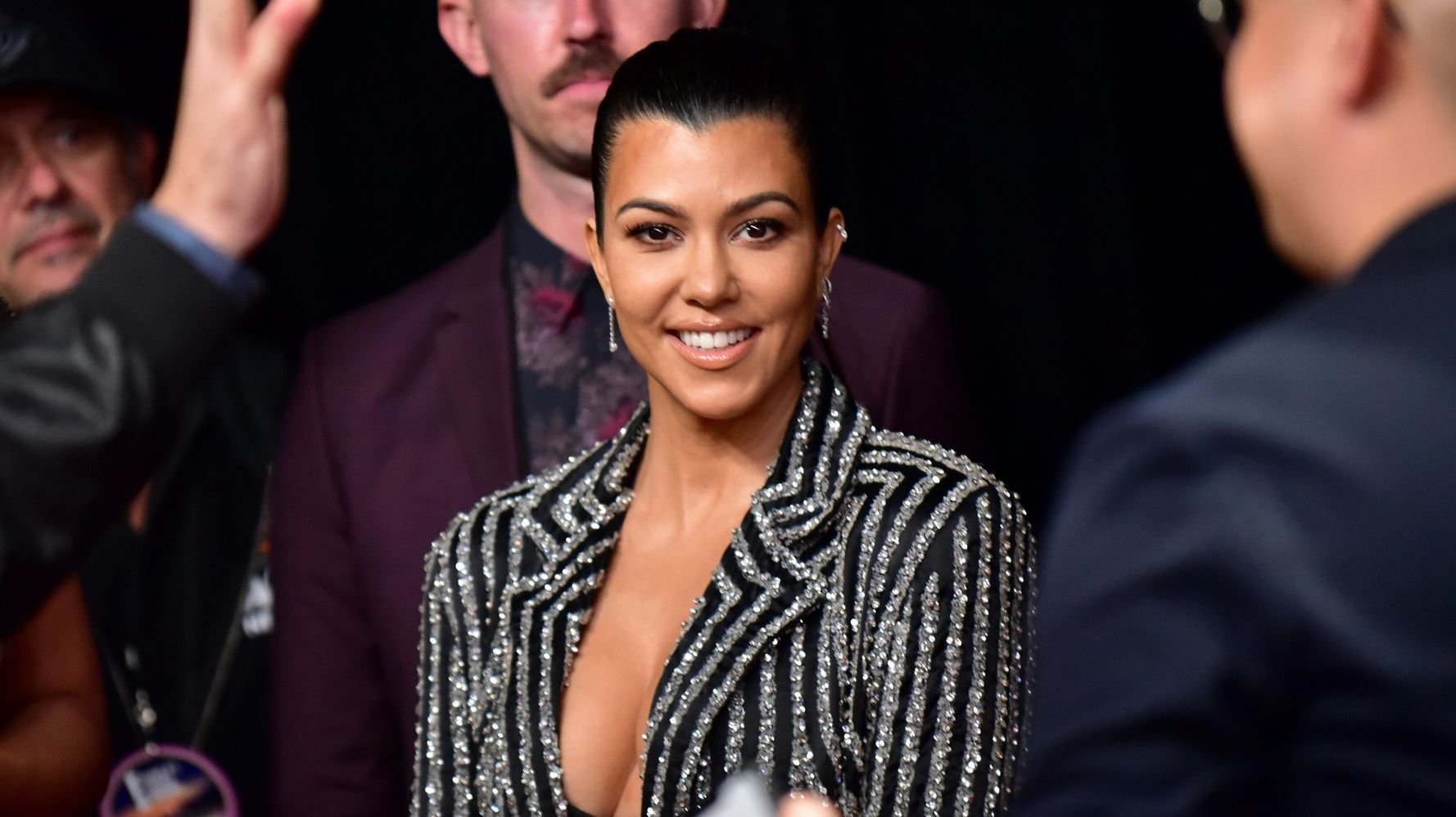 Westlake Legal Group 5e29b7ff2400009c03c97398 Kourtney Kardashian Addresses Pregnancy Speculation