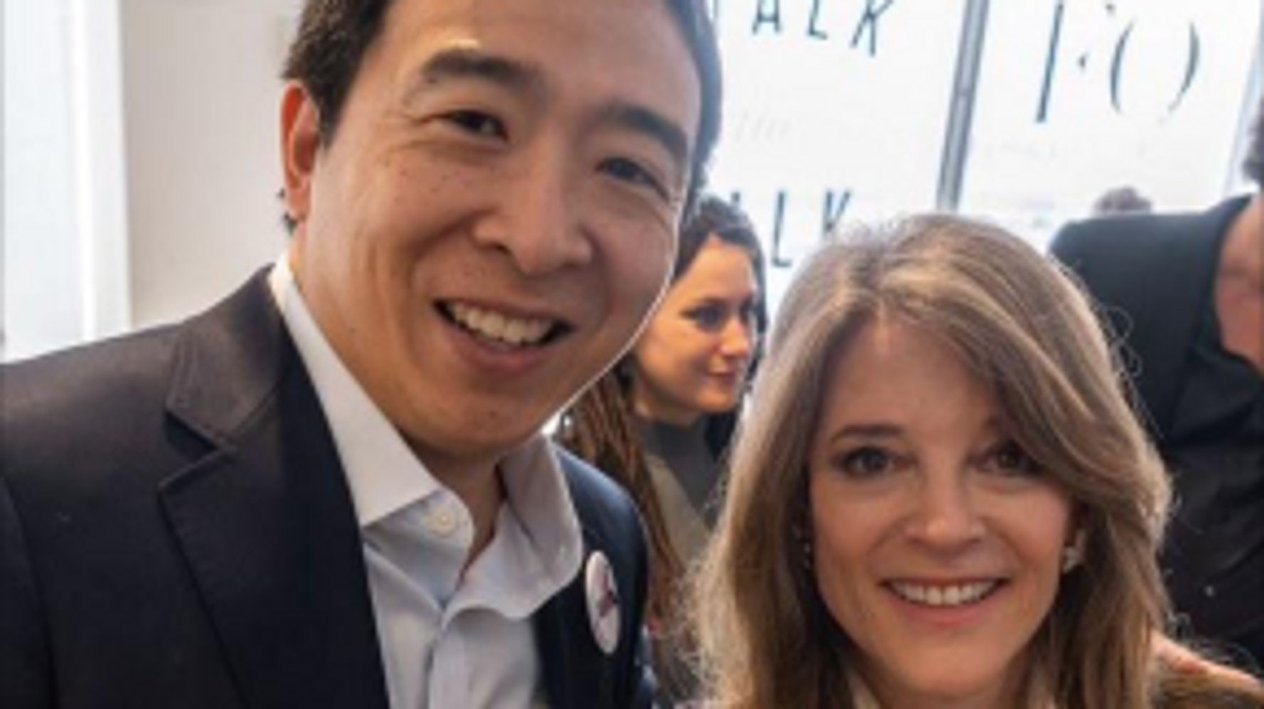 Williamson To Support Yang In Iowa Caucuses: He's 'Deep In Substance'