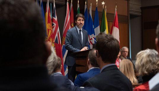 Trudeau demande à son caucus «d'aller au-delà des divisions entre