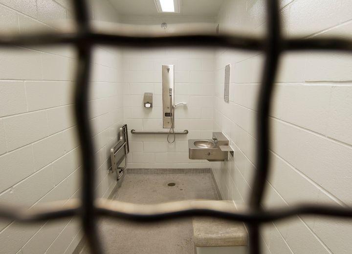 Inside the Toronto South Detention Centre.
