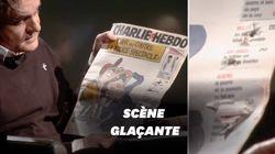Riss dévoile un Charlie Hebdo criblé par les balles du 7 janvier