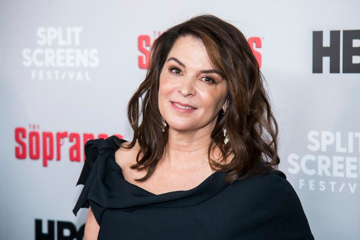 """Annabella Sciorra ata """"Sopranos"""" 20th anniversary in 2019. She testified this week at the trial of Harvey Weinstein.&nb"""