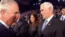 Twitter-Nutzer Diskutieren, Ob Prinz Charles Wirklich Brüskiert, Mike Pence