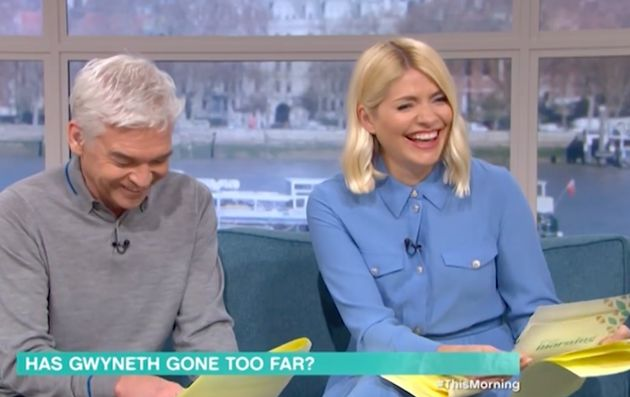 Holly Willoughby And Phillip Schofield Cant Stop Laughing Over Unfortunately-Named Doctor
