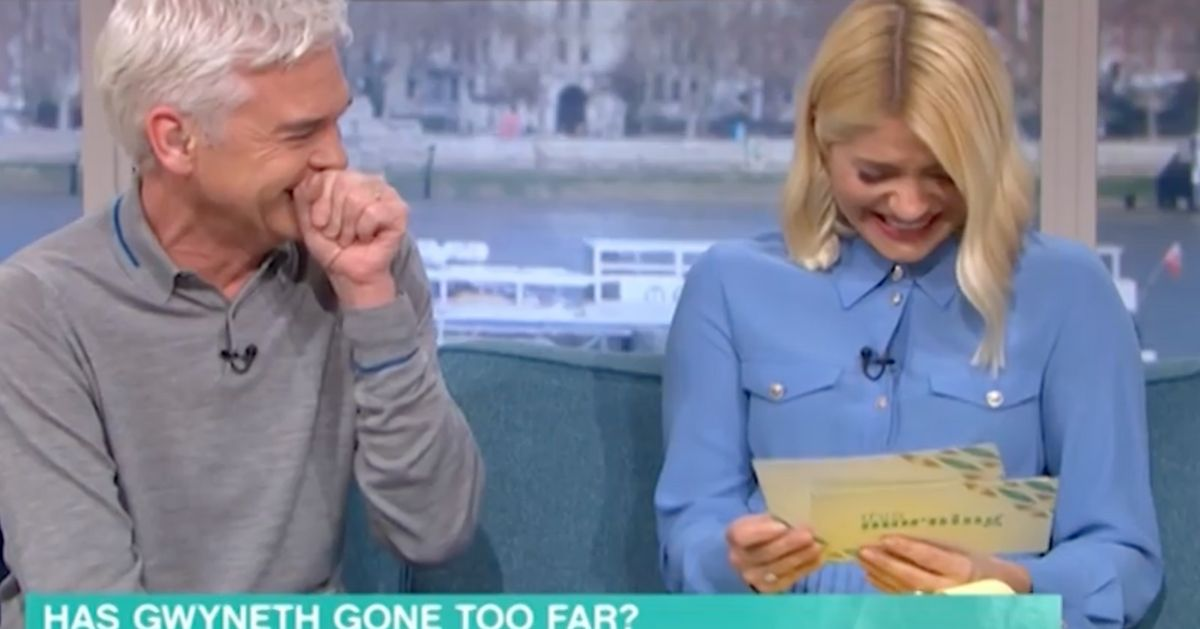 Holly Willoughby And Phillip Schofield Can't Stop Laughing Over Unfortunately-Named Doctor