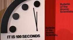 Per gli scienziati atomici l'orologio dell'Apocalisse è a