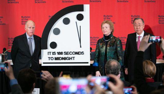 地球滅亡まで「残り100秒」 原因は核戦争や地球温暖化の脅威?