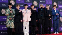 방탄소년단(BTS), 한국 가수 최초로 '그래미 어워즈'에서
