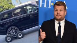Busted? Video Of James Corden's Carpool Karaoke Has Fans Questioning