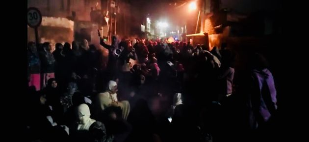 Hundreds of women led a protest against the Citizenship Amendment Act (CAA) in Etawah on 21 January,