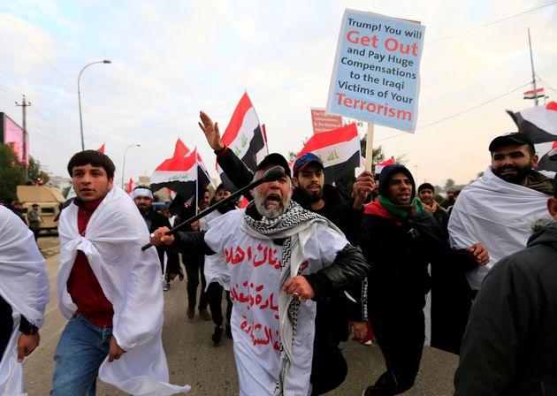 Yankee go home! Grande marcia a Baghdad contro gli Usa