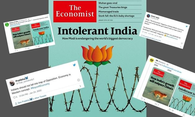 Twitter Trolls Bhakts For Calling The Economist 'Anti-National' After Cover On Modi