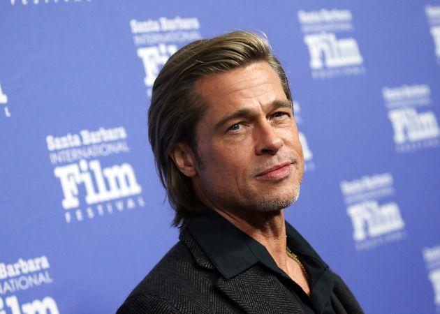 El actor Brad Pitt en el Festival de Cine Internacional de Santa Bárbara (California) el 22 de...