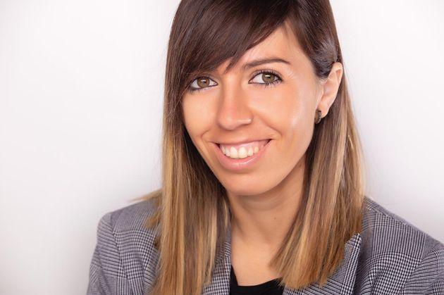 La profesora ganadora del premio en la categoría de Primaria, Lourdes