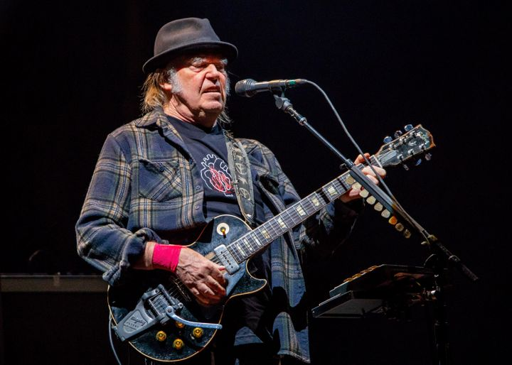 Rock legend Neil Young is now a U.S. citizen.