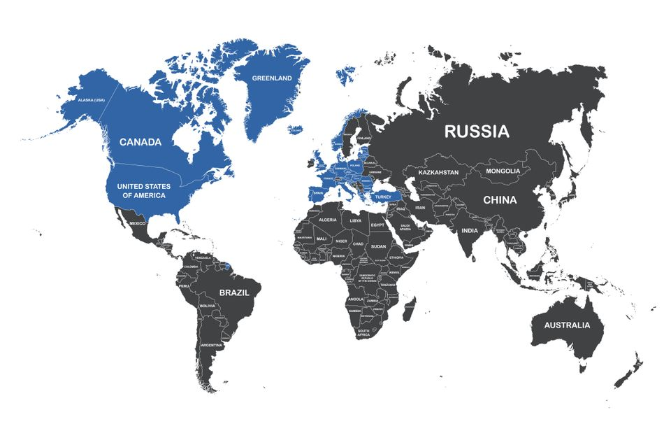 Τα κράτη μέλη του ΝΑΤΟ...