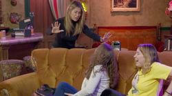 Jennifer Aniston Scares The Bejesus Out Of 'Friends' Fans In Central