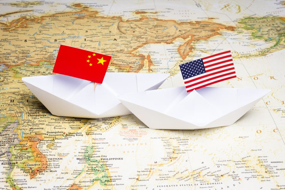 Conflict between China and USA in Asia-Pacific