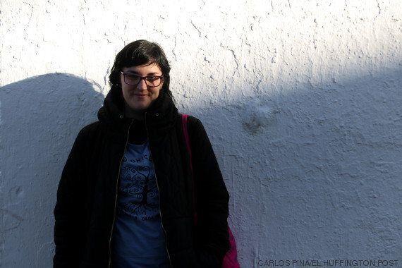 Pamela Palenciano en una entrevista en