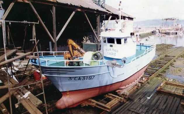 Salvamento baraja la operación de búsqueda submarina del pesquero desaparecido con seis tripulantes a