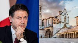 Assisi meglio di Davos. Giuseppe Conte: