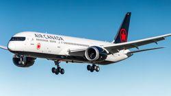 Les vols internationaux d'Air Canada ont été retardés jeudi et vendredi