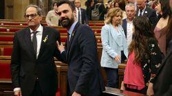 Los letrados del Parlament dejan en manos de Torrent la decisión sobre el acta de