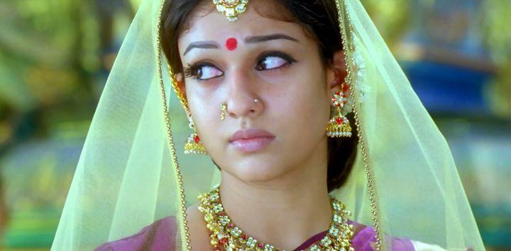 Nayanthara in 'Sri Rama Rajyam'.