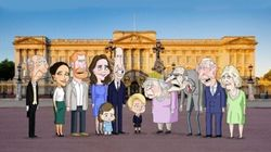 La royal family, vista con gli occhi del principe George: arriva il cartoon The