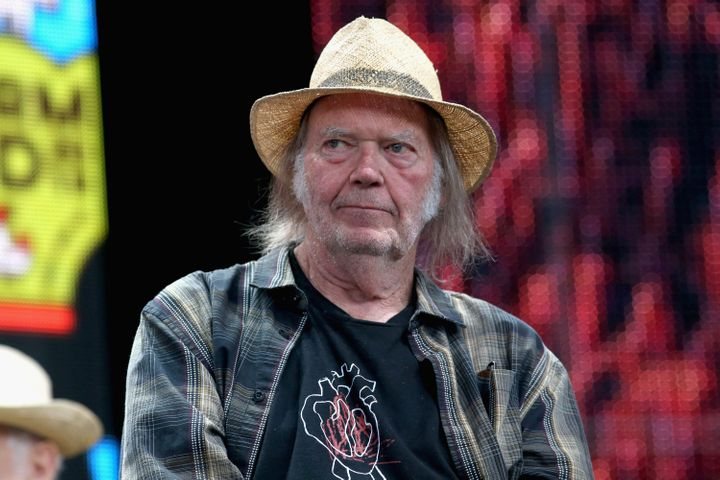 Toronto-born rocker Neil Young is seen here in Wisconsin on Sept. 21, 2019. The musician has been a vocal critic of U.S. President Donald Trump.