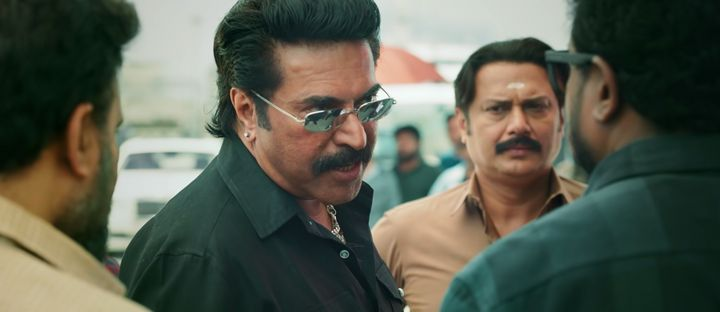 Mammootty in a still from 'Shylock'