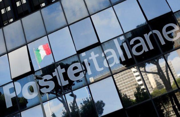 Poste Italiane headquarter is seen in