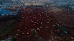 Wuhan construye un hospital para enfermos del