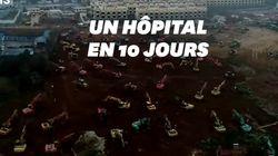 À Wuhan, des ouvriers mobilisés pour construire un hôpital en un temps