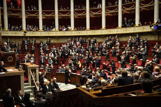 Photographie de l'hémicycle
