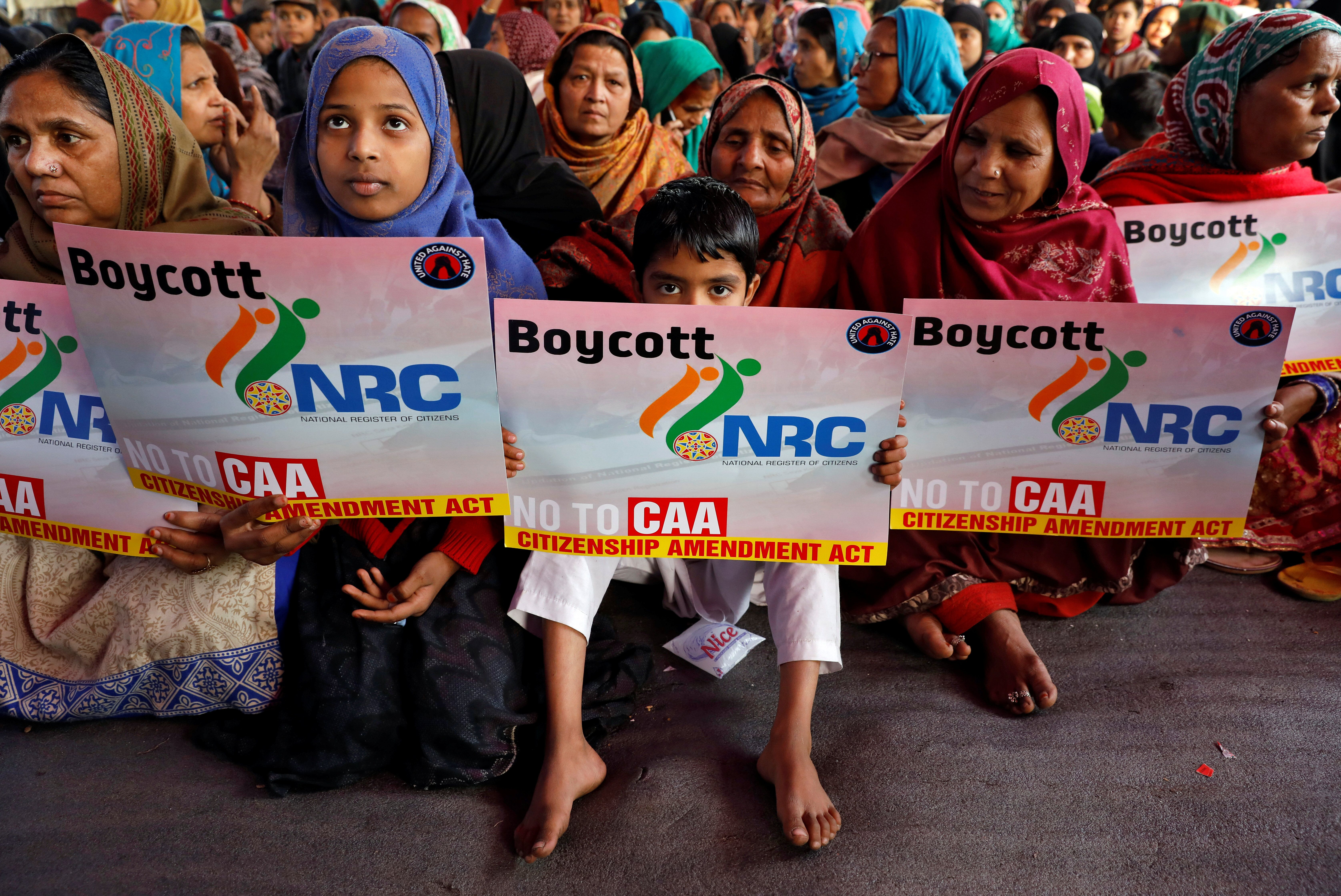 Muslim Women Are Protesting India's Citizenship Law By Occupying Streets