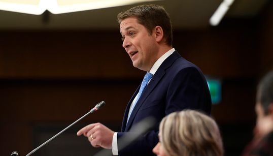 Scheer Says No 'Free Ride' For Liberals While Tories Look For New