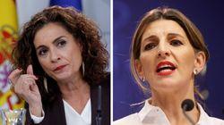 El 'ministrómetro': María Jesús Montero y Yolanda Díaz, a la
