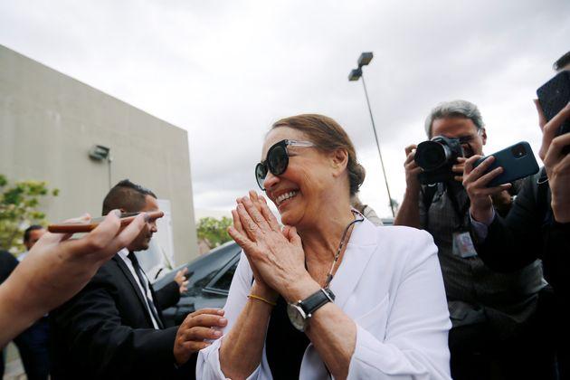 Regina Duarte esteve em Brasília esta semana para conhecer estrutura da Secretaria da